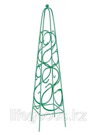 Пирамида садовая декоративная для вьющихся растений, 112,5 х 23 см, квадратная Palisad 69126, фото 2