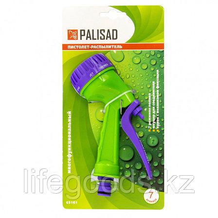 Пистолет-распылитель, 7 режимов полива Palisad 65161, фото 2