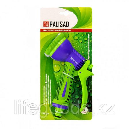 Пистолет-распылитель, 8 режимов полива Palisad 65146, фото 2