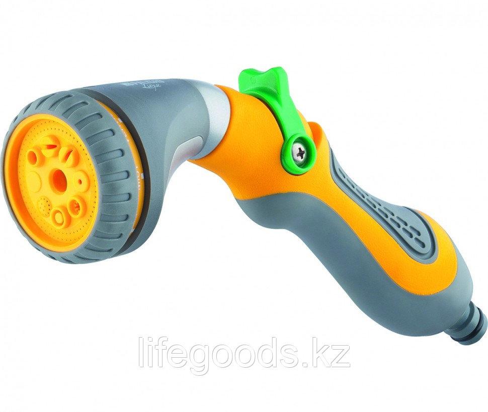 Пистолет-распылитель, 8 режимов полива, эргономичная рукоятка Palisad Luxe 65171