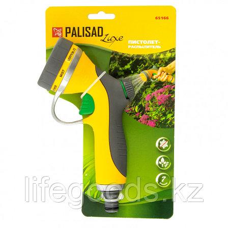 Пистолет-распылитель, металлический, 7 режимов полива, курок спереди Palisad Luxe 65166, фото 2