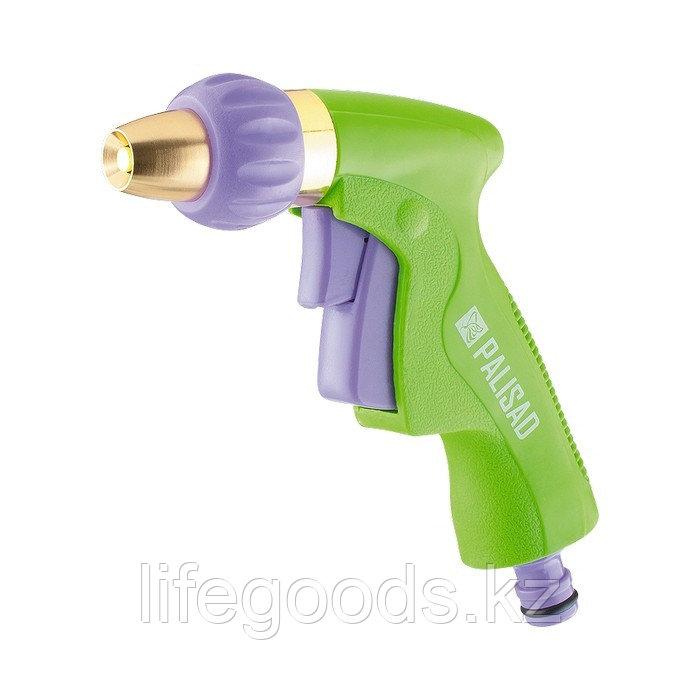 Пистолет-распылитель, регулируемый, металлический корпус Palisad 65252
