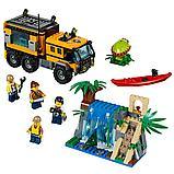 Конструктор BELA City Передвижная лаборатория в джунглях 10711 (Аналог LEGO City 60160) 465 дет, фото 2