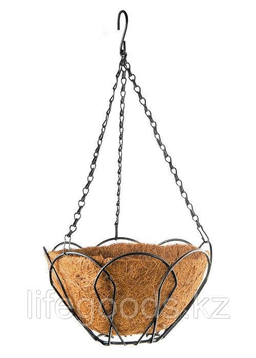 Подвесное кашпо, 30 см, с кокосовой корзиной Palisad 69002