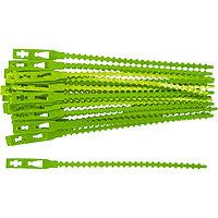 Подвязки для садовых растений, 13 см, пластиковые, 50 шт, Palisad 64494
