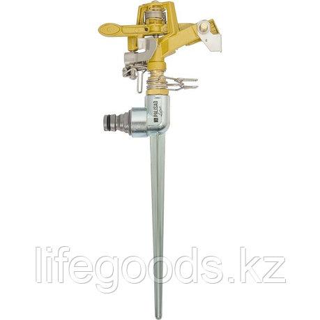Разбрызгиватель импульсный, латунный, со штырем Palisad Luxe 65479, фото 2