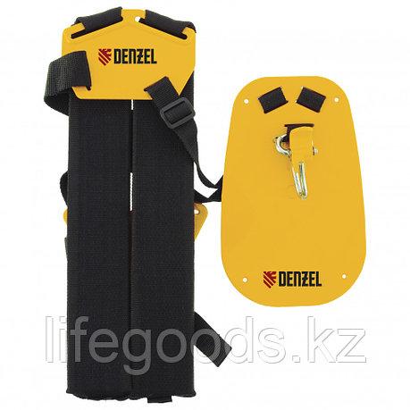 Ремень ранцевый с защитой бедра для бензиновых триммеров Denzel 96367, фото 2