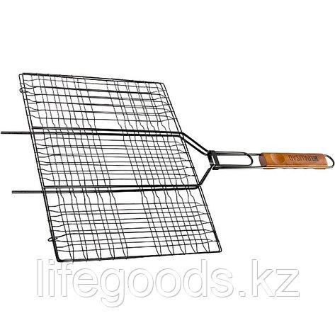 Решетка гриль 300 х 400 мм, антипригарное покрытие, Camping Palisad 69560, фото 2