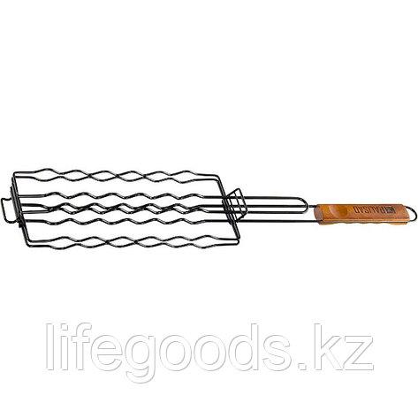 Решетка гриль для сосисок 240 х 90 мм, антипригарное покрытие, Camping Palisad, фото 2