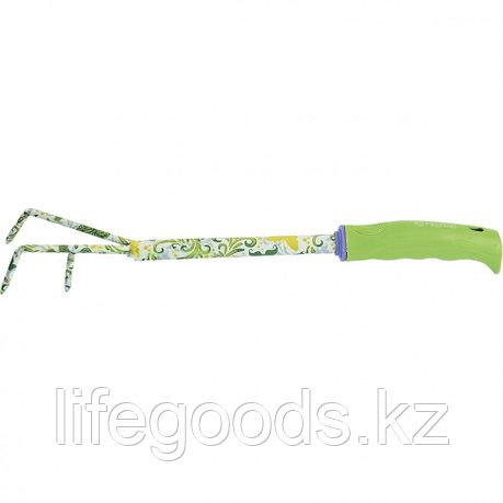 Рыхлитель трехзубый, пластиковая рукоятка Palisad 62038, фото 2