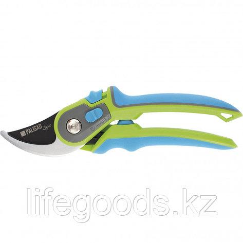 Секатор прямого реза, обрезиненные трехкомпонентные рукоятки, Luxe Palisad 60479, фото 2