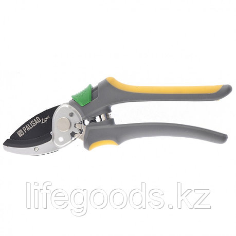 Секатор с наковальней, обрезиненные рукоятки, Luxe Palisad 60484, фото 2