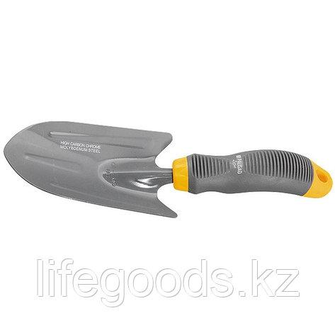 Совок посадочный широкий, эргономичная двухкомпонентная рукоятка Luxe Palisad, фото 2