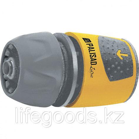 Соединитель быстросъемный для шланга 1/2-3/4, АВС-пластик Palisad Luxe 66266, фото 2