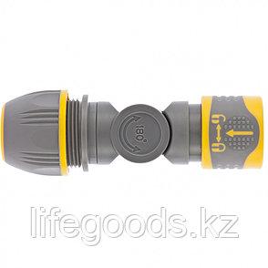 Соединитель быстросъемный, универсальный 1/2-3/4, с шарниром Palisad Luxe 66249, фото 2