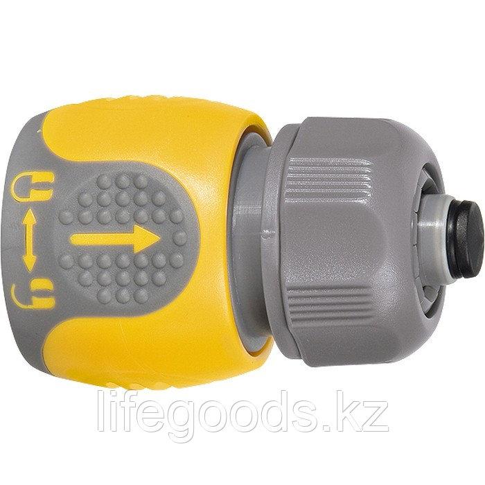 Соединитель для шланга 1/2, аквастоп, двухкомпонентный Palisad Luxe 66244