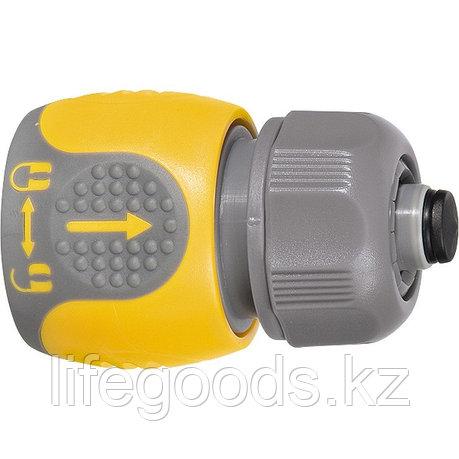 Соединитель для шланга 1/2, аквастоп, двухкомпонентный Palisad Luxe 66244, фото 2