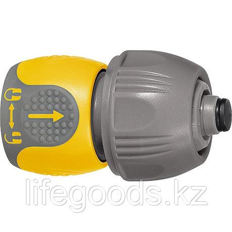 Соединитель для шланга универсальный, аквастоп, двухкомпонентный Palisad Luxe, фото 2