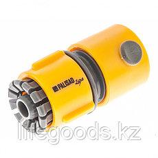 Соединитель пластмассовый, быстросъемный для шланга 1/2, аквастоп, Luxe Palisad 66472, фото 3