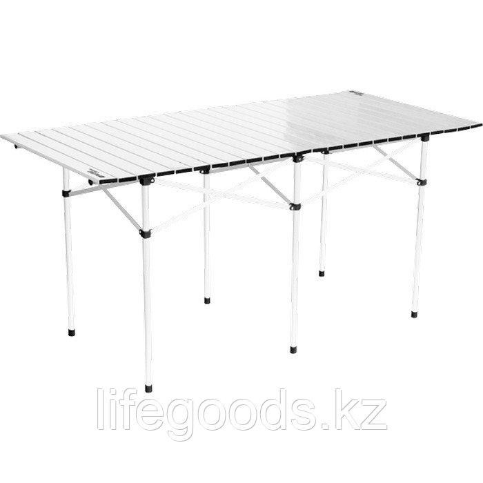 Стол складной алюминиевый, 1400 x 700 x 700 мм, Camping Palisad 69580