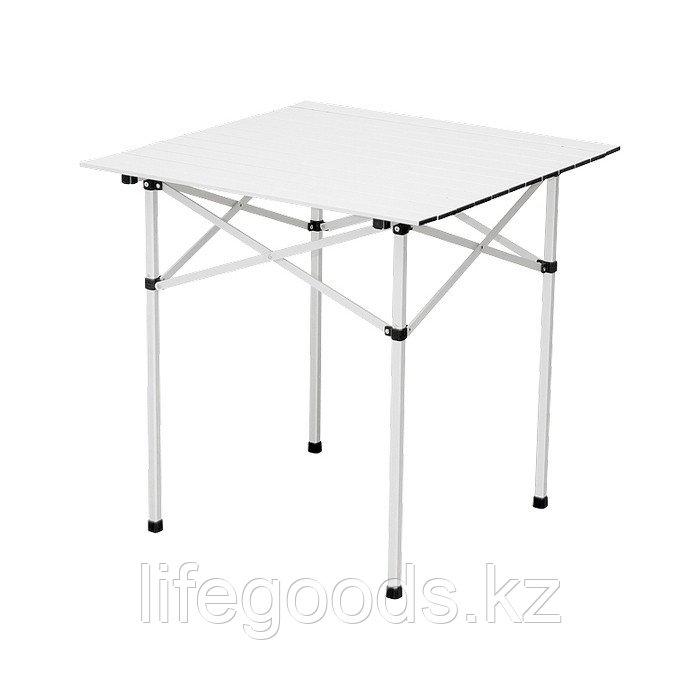Стол складной алюминиевый, 700 x 700 x 700 мм, Camping Palisad