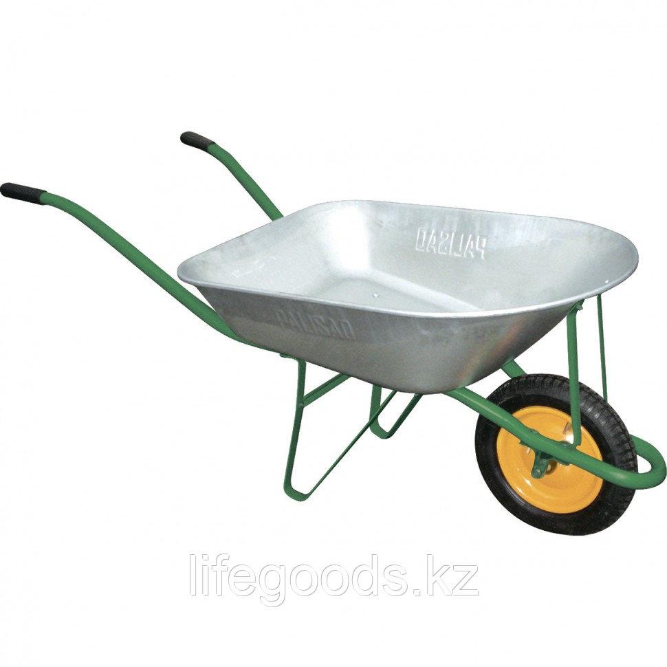 Тачка садовая грузоподъемность 160 кг, объем 78 л Palisad