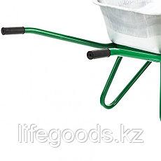Тачка садово-строительная, усиленная, грузоподъемность 200 кг, объем 90 л Palisad, фото 3