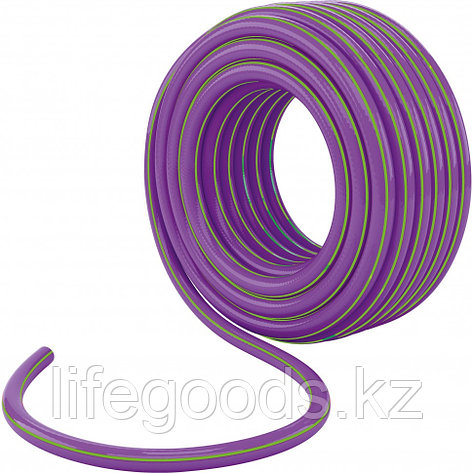 Шланг поливочный армированный трехслойный 1/2, серия Violet, 15 м Palisad, фото 2