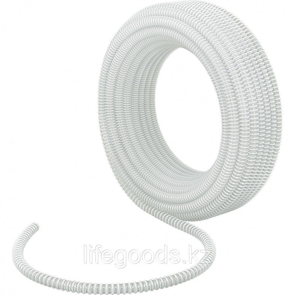 Шланг спиральный, армированный, малонапорный, D 32 мм, 3 атм, 30 м Сибртех 67314
