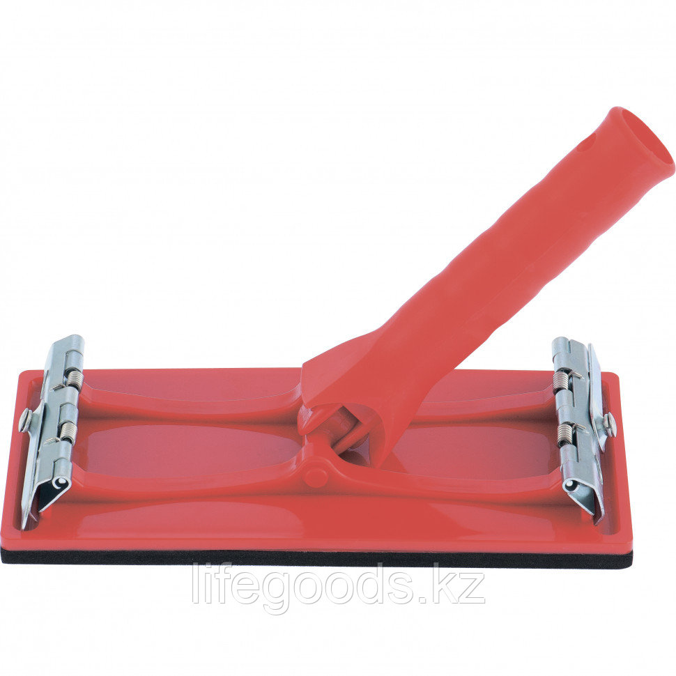 Брусок для шлифования 105 х 210 мм, с шарнирным переходником под телескопическую ручку Mtx 75835