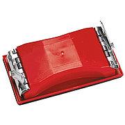 Брусок для шлифования, 160 х 85 мм, пластиковый с зажимами Matrix 75820