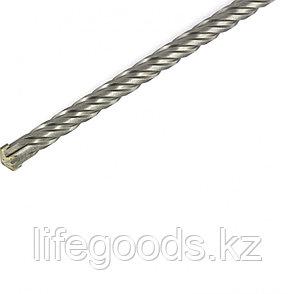 Бур по бетону, 14 x 300 мм, SDS Plus c крестовой пластиной Matrix 70677, фото 2