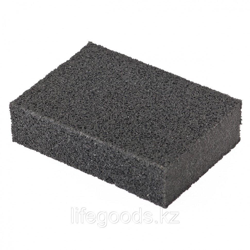 Губка для шлифования, 100 х 70 х 25 мм, мягкая, P 100 Matrix 75703