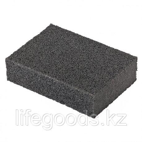 Губка для шлифования, 100 х 70 х 25 мм, мягкая, P 80 Matrix 75702, фото 2