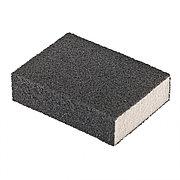 Губка для шлифования, 100 х 70 х 25 мм, мягкая, P120 Matrix 75704