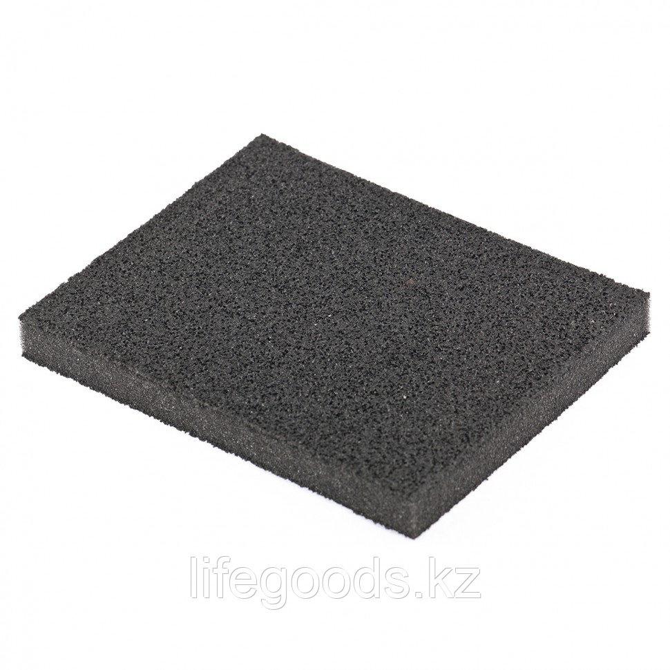 Губка для шлифования, 125 х 100 х 10 мм, мягкая, P 100 Matrix 75722