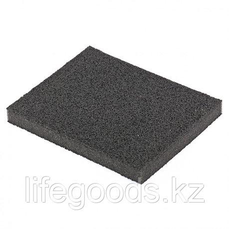 Губка для шлифования, 125 х 100 х 10 мм, мягкая, P 100 Matrix 75722, фото 2