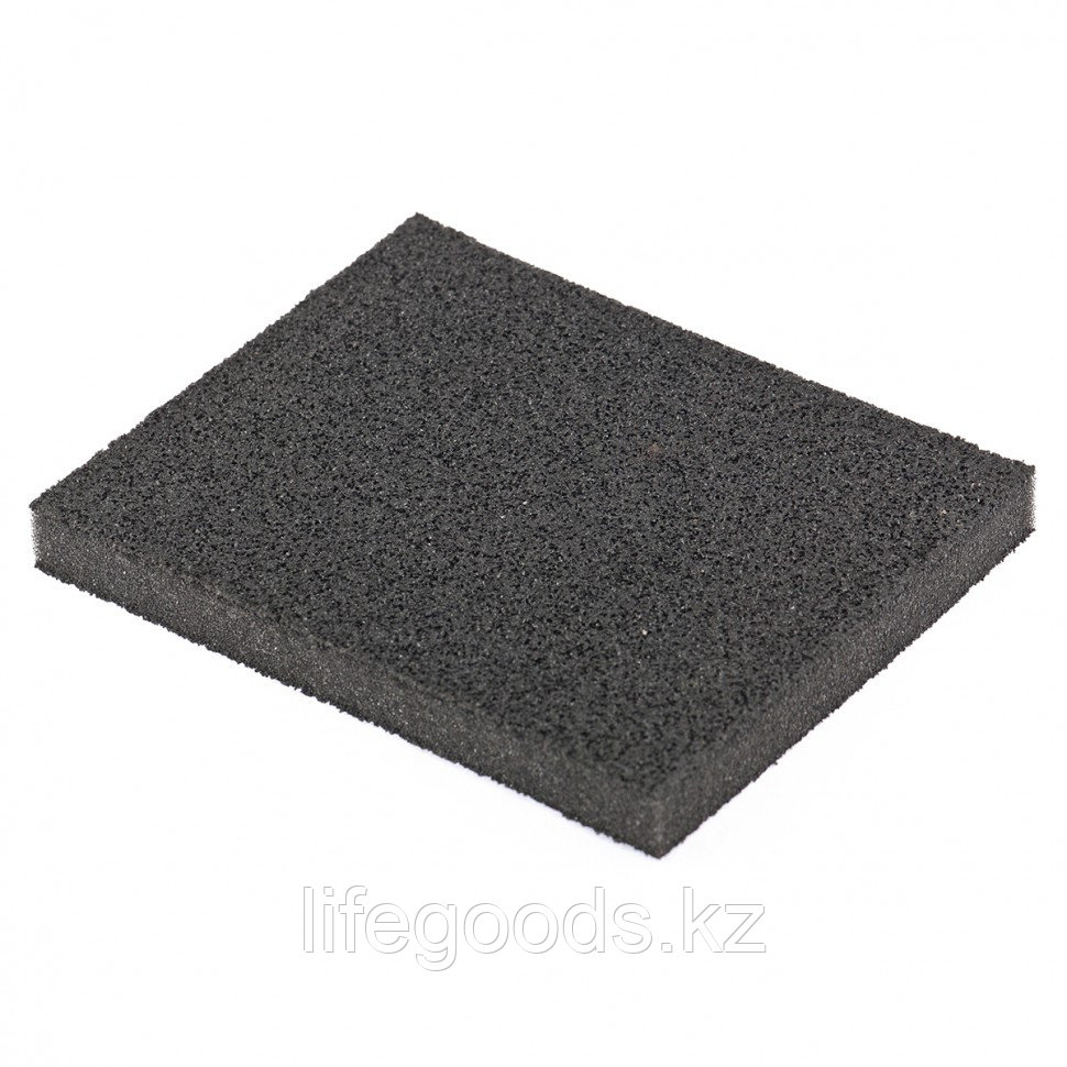 Губка для шлифования, 125 х 100 х 10 мм, мягкая, P 80 Matrix 75721