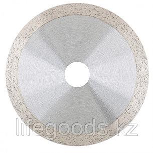 Диск алмазный, 115 х 22,2 мм, сплошной, мокрая резка Gross 730367, фото 2