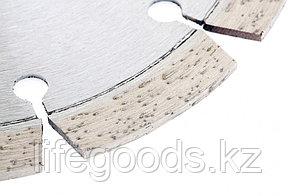 Диск алмазный, 125 х 22,2 мм, лазерная приварка сегментов, сухая резка Gross 73003, фото 3