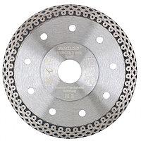Диск алмазный, 230 х 22,2 мм, тонкий, сплошной (Jaguar), мокрая резка Gross 73059