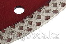 Диск алмазный, отрезной сплошной, 115 х 22,2 мм, сухая резка Matrix Professional 73122, фото 2