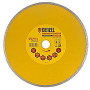 Диск алмазный, отрезной сплошной, 230 х 22,2 мм, мокрая резка Denzel 73132