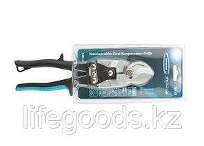 """Кабелерез """"Piranha"""", 240 мм, двухкомпонентные рукоятки, D кабеля до 14 мм, сечение 14 мм2 Gross 78450, фото 2"""