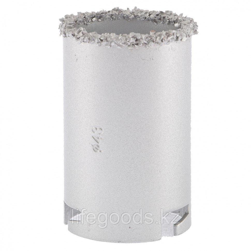 Кольцевая коронка с карбидным напылением, 43 мм Matrix 72847