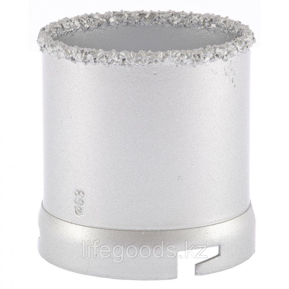 Кольцевая коронка с карбидным напылением, 63 мм Matrix 72851