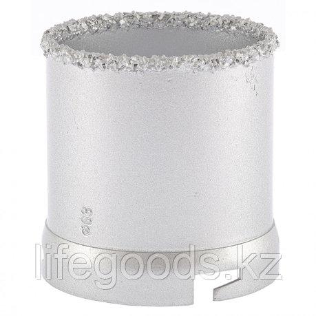 Кольцевая коронка с карбидным напылением, 63 мм Matrix 72851, фото 2