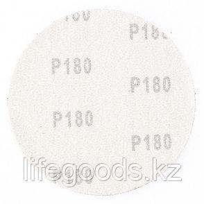 """Круг абразивный на ворсовой подложке под """"липучку"""", P 180, 115 мм, 10 шт Matrix 73829, фото 2"""