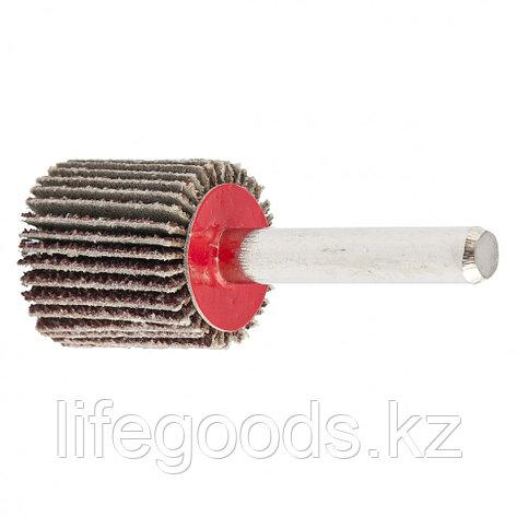 Круг лепестковый для дрели, 20 х 20 х 6 мм, P 150 Matrix 74105, фото 2