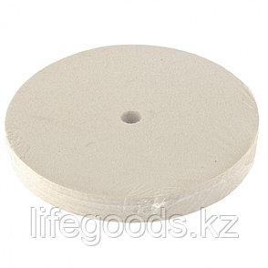 Круг полировальный из натурального войлока, 150 х 20 х 12,7 мм Matrix 75909, фото 2